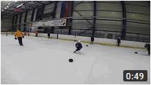 Техника катания хоккеиста Улитки с разворотом корпуса
