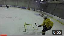 Тренировка на технику владения клюшкой и шайбой Любительская тренировка по хоккею
