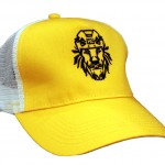 кепка желтая с логотипом