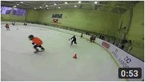 Групповая детская тренировка по хоккею УТЦ Новогорск