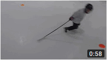 Тренировка по хоккею на катание